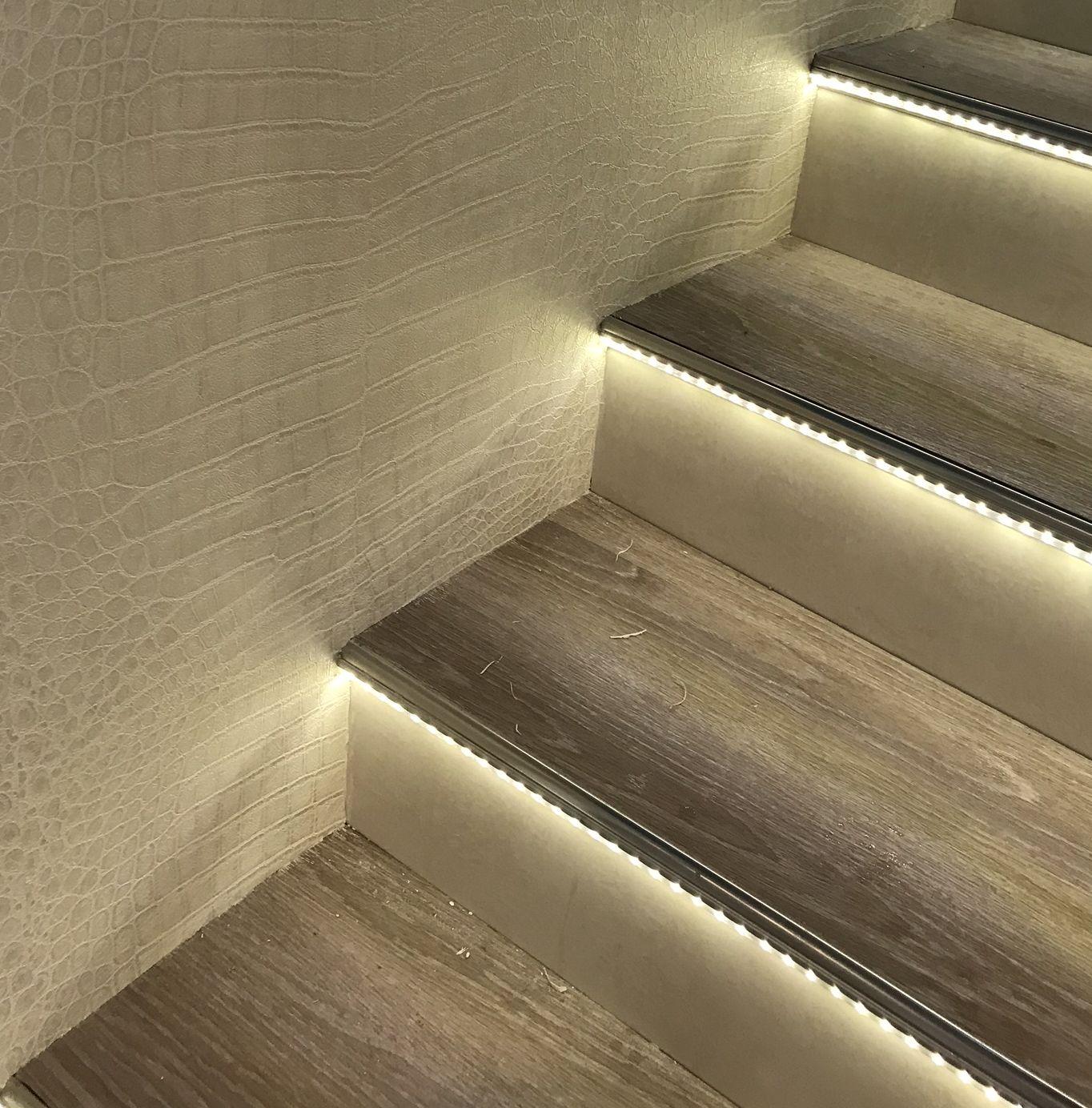 led streifen treppe