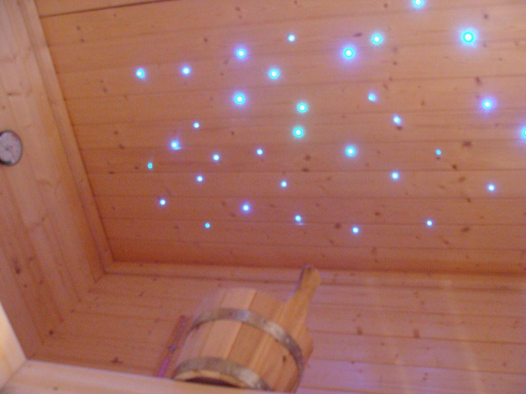 Fußboden In Sauna ~ Sauna sternenhimmel licht farbwechsler glasfaser sternenhimmel