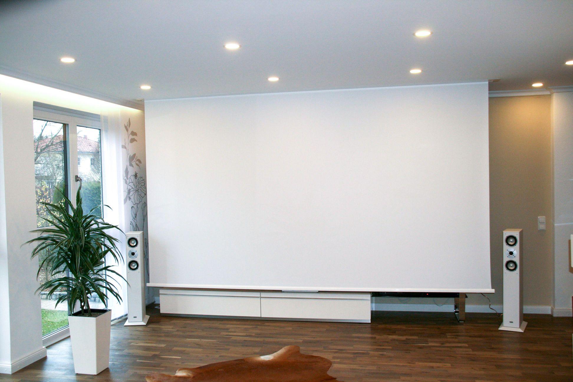 deckeneinbauleinwand motorleinwand g nstig kaufen. Black Bedroom Furniture Sets. Home Design Ideas