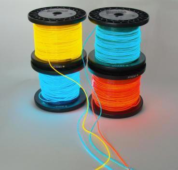 Leuchtschnüre, Leuchtfolien, Leuchtband, Lichtkunst, Treppenlicht ...