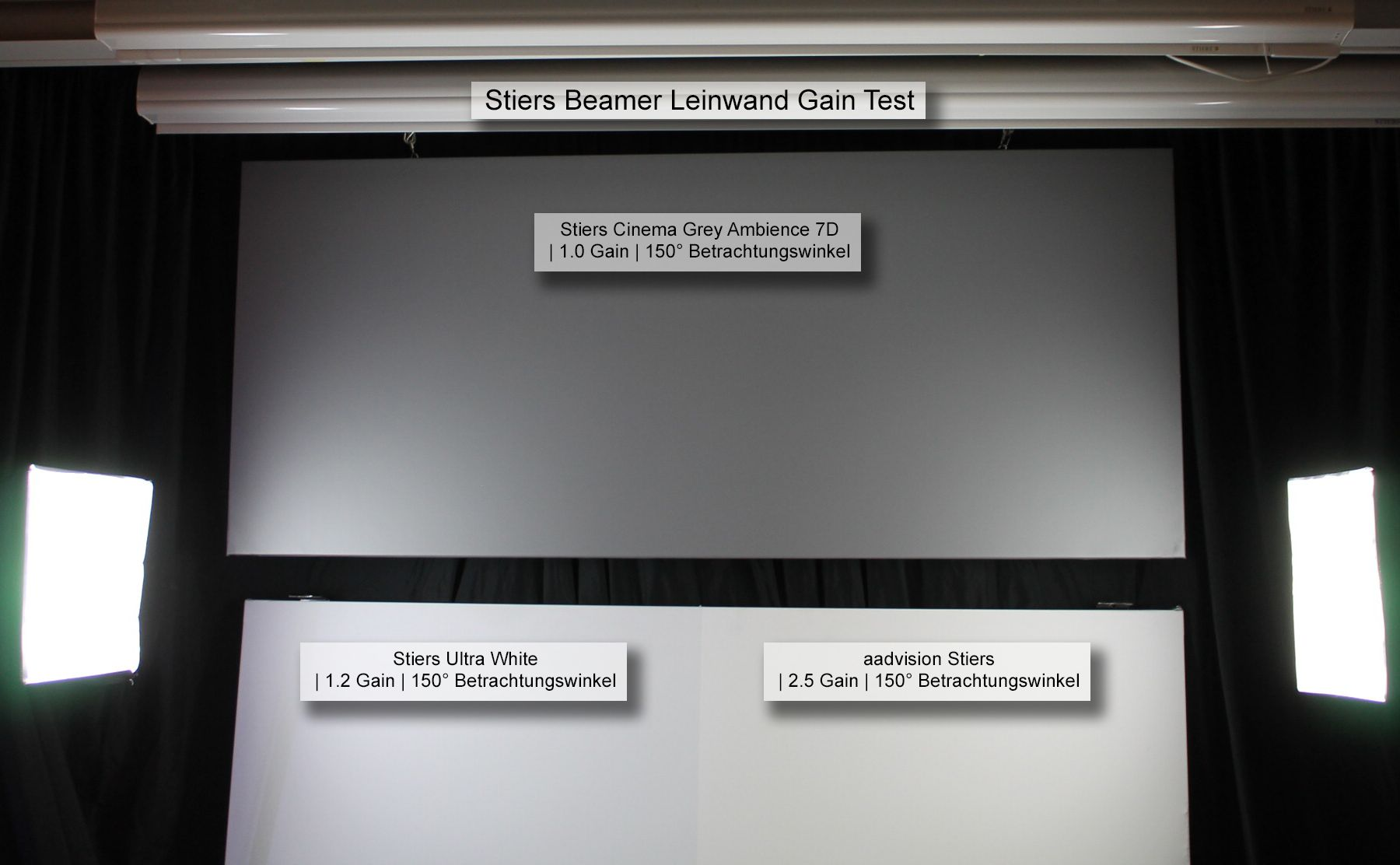 Motorleinwand Hersteller Beamer Projektionsleinwand