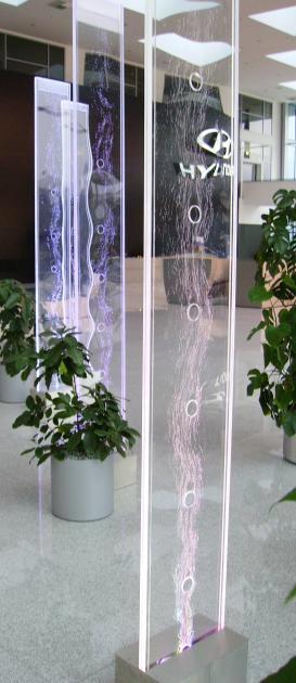 Wasserwand edelstahl wasserw nde design wasserfall wand - Wasserfall wand ...